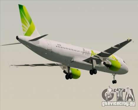 Airbus A320-200 Air Australia для GTA San Andreas двигатель