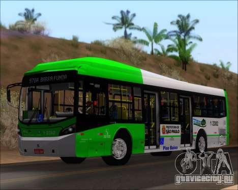 Caio Induscar Millennium BRT Viacao Gato Preto для GTA San Andreas вид слева