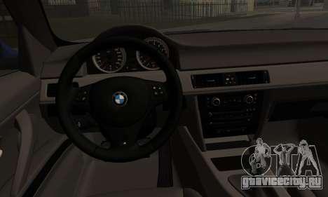 BMW M3 E90 Stance Works для GTA San Andreas вид сзади слева