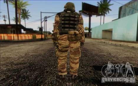 Солдат МЕК (Battlefield 2) Skin 1 для GTA San Andreas второй скриншот