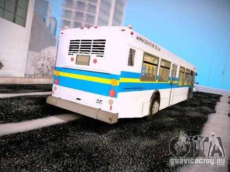NewFlyer D40LF TransLink Vancouver BC для GTA San Andreas вид справа