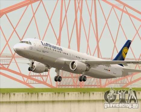 Airbus A320-211 Lufthansa для GTA San Andreas вид сбоку