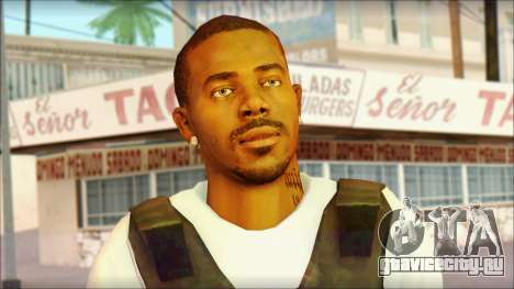 New Grove Street Family Skin v5 для GTA San Andreas третий скриншот