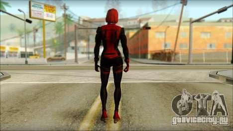Mass Effect Anna Skin v3 для GTA San Andreas второй скриншот