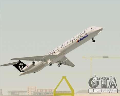 McDonnell Douglas MD-82 Spanair для GTA San Andreas салон