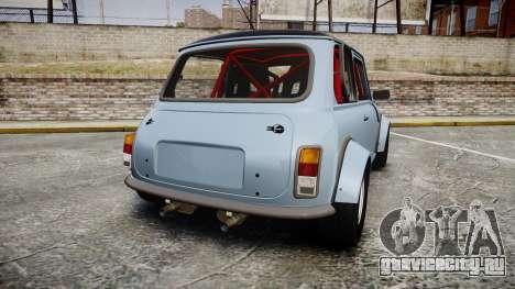 Mini Miglia [Updated] для GTA 4 вид сзади слева