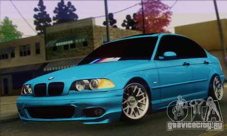 BMW 320i E46 для GTA San Andreas
