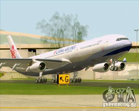 Airbus A340-313 China Airlines для GTA San Andreas