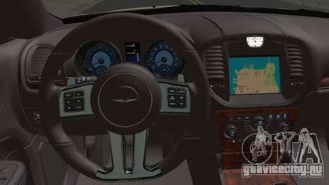 Chrysler 300C 2011 для GTA San Andreas вид сзади слева