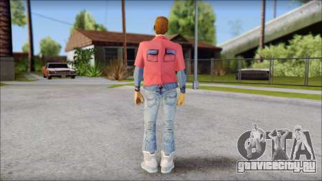 Marty with No Hat 2015 для GTA San Andreas второй скриншот