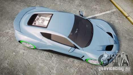 Zenvo ST1 2010 для GTA 4 вид справа