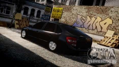 Lada Granta для GTA 4 вид сбоку