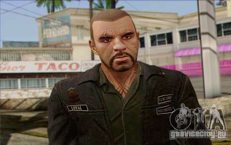 Johnny Klebitz From GTA 5 для GTA San Andreas третий скриншот