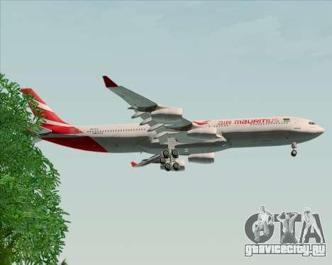 Airbus A340-312 Air Mauritius для GTA San Andreas колёса