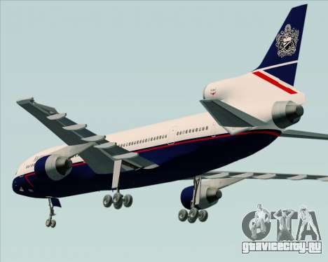 Lockheed L-1011 TriStar British Airways для GTA San Andreas вид справа