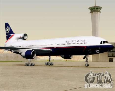 Lockheed L-1011 TriStar British Airways для GTA San Andreas вид сверху