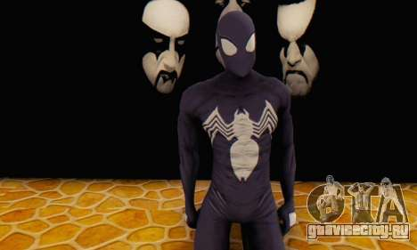 Skin The Amazing Spider Man 2 - Suit Symbiot для GTA San Andreas
