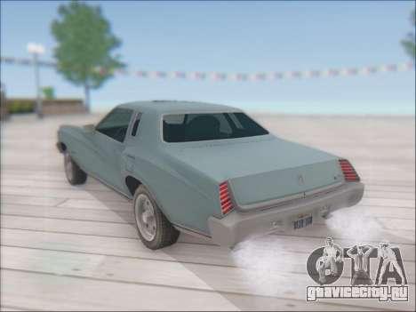Chevrolet Monte Carlo 1973 для GTA San Andreas вид слева