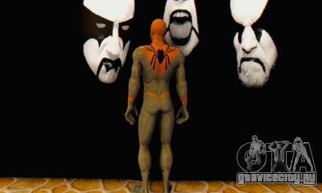 Skin The Amazing Spider Man 2 - Suit Assasin для GTA San Andreas четвёртый скриншот