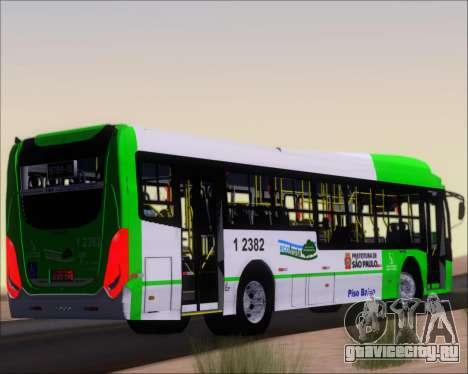 Caio Induscar Millennium BRT Viacao Gato Preto для GTA San Andreas вид справа