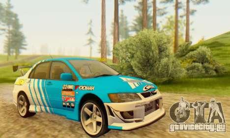 Mitsubishi Lancer Turkis Drift Aem для GTA San Andreas