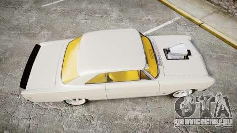 Chevrolet II Nova SS 1966 Custom [EPM] для GTA 4 вид справа