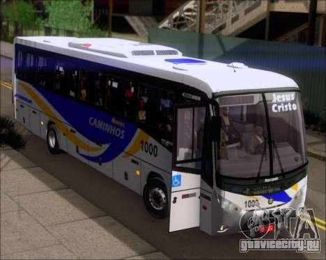 Marcopolo Ideale 770 - Volksbus 17-230 EOD для GTA San Andreas вид сверху