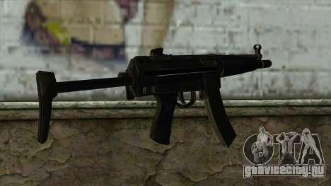 TheCrazyGamer MP5 для GTA San Andreas второй скриншот