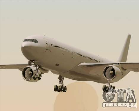 Airbus A330-300 Full White Livery для GTA San Andreas