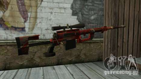 Sniper Rifle from PointBlank v3 для GTA San Andreas второй скриншот