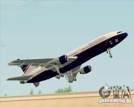 Lockheed L-1011 TriStar British Airways для GTA San Andreas вид слева
