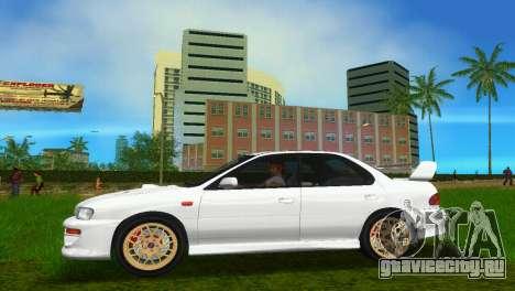 Subaru Impreza WRX STI GC8 Sedan Type 3 для GTA Vice City вид справа