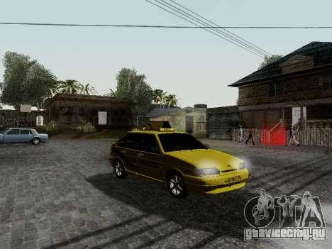 ВАЗ 2114 ТМК Форсаж для GTA San Andreas вид слева