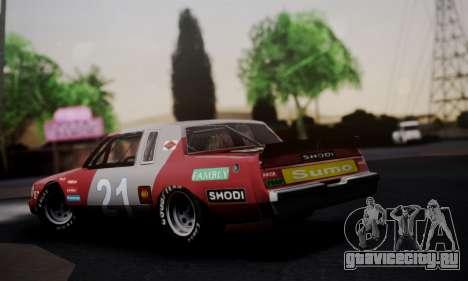 Buick Regal 1983 для GTA San Andreas вид слева