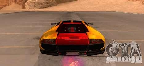 Lamborghini Murcielago для GTA San Andreas вид справа