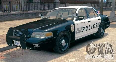 Ford Crown Victoria LCPD [ELS] Slicktop для GTA 4