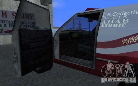Обновленный Sandking для GTA San Andreas вид слева