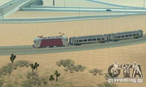 Le 3400Kw для GTA San Andreas вид изнутри