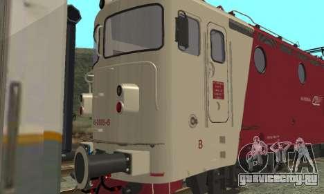 Le 3400Kw для GTA San Andreas вид сзади слева