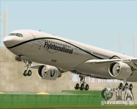 Airbus A330-300 Fly International для GTA San Andreas колёса