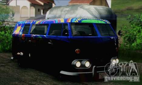 GTA V Surfer для GTA San Andreas вид сзади слева