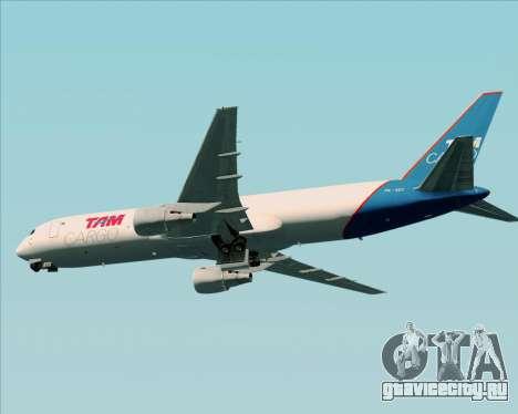 Boeing 767-300ER F TAM Cargo для GTA San Andreas вид сзади