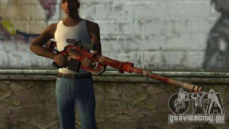 Sniper Rifle from PointBlank v3 для GTA San Andreas третий скриншот