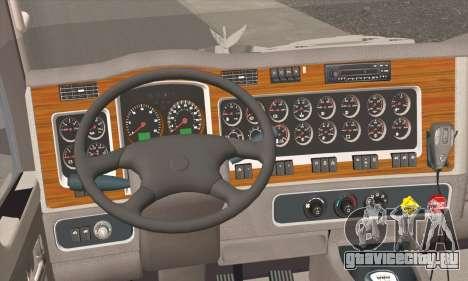 Kenworth T600 для GTA San Andreas вид сзади слева