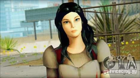 Lady Sif для GTA San Andreas третий скриншот