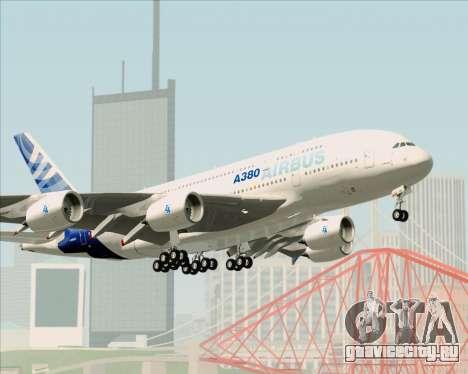 Airbus A380-861 для GTA San Andreas колёса