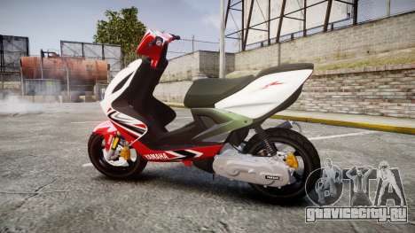 Yamaha Aerox для GTA 4 вид слева