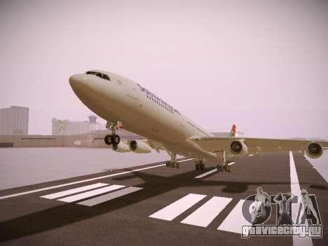 Airbus A340-300 South African Airways для GTA San Andreas