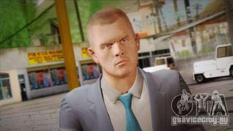 Hoxton From Pay Day 2 v2 для GTA San Andreas третий скриншот