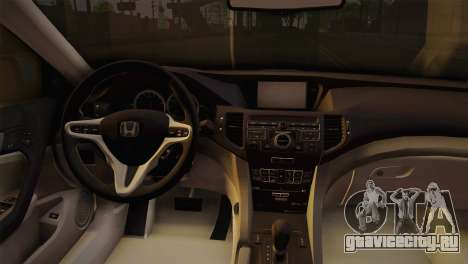 Honda Accord 2010 Hellaflush для GTA San Andreas вид справа